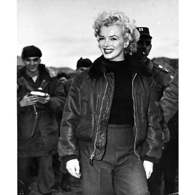 bomber femme Marylin Monroe